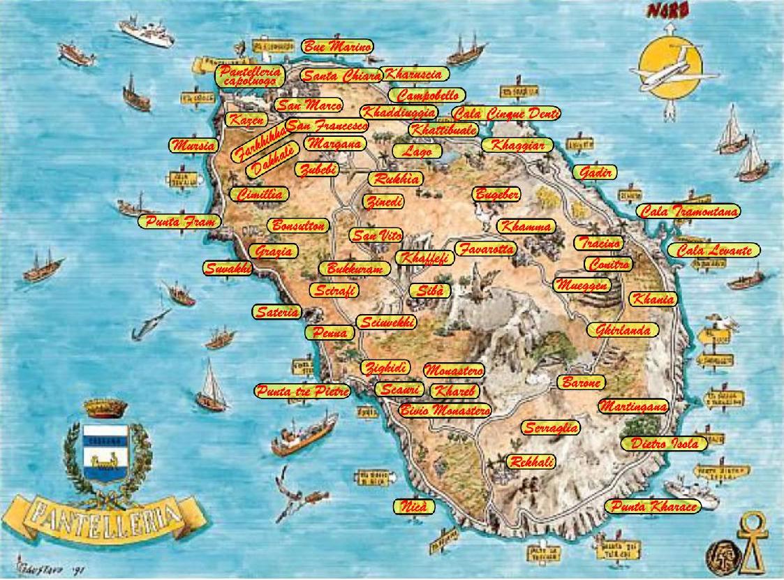 MappaPantelleria